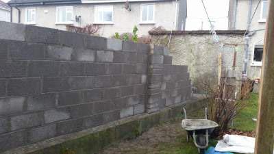 garden wall ideas dublin. new garden wall built ideas dublin